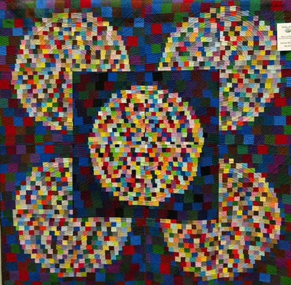 modern quilt, Asheville Quilt Show